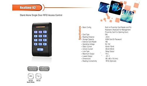 Realtime K2 Standalone Access Control