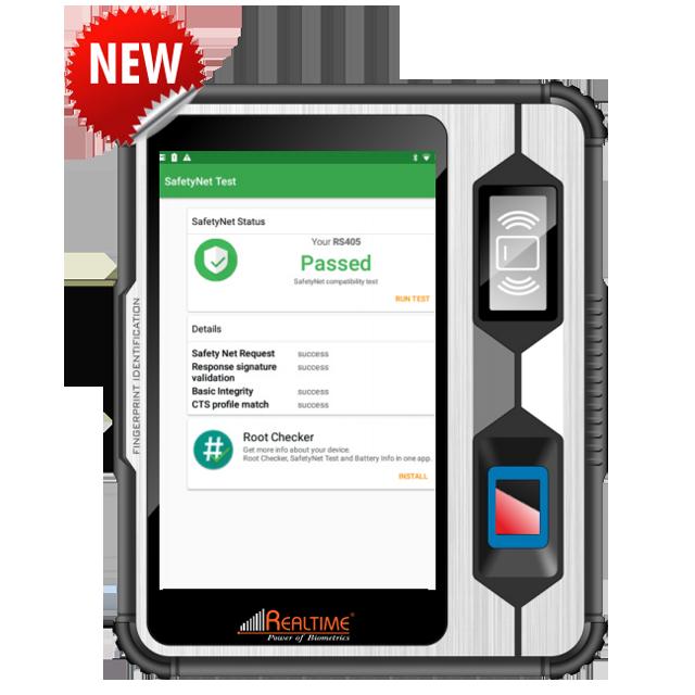 Realtime RS-405 Aadhaar Enabled Biometric Machine